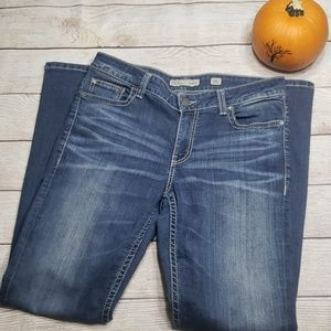 BKE size 30 Long Dakota Dark wash stretch Jean